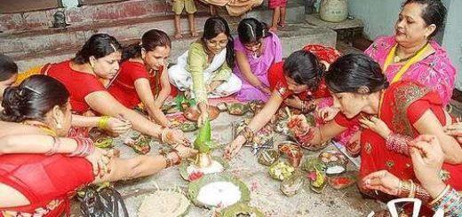 Teej Festival Celebrations