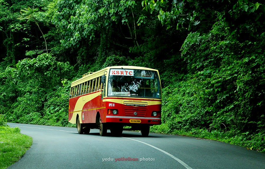 Munnar Bus Journey