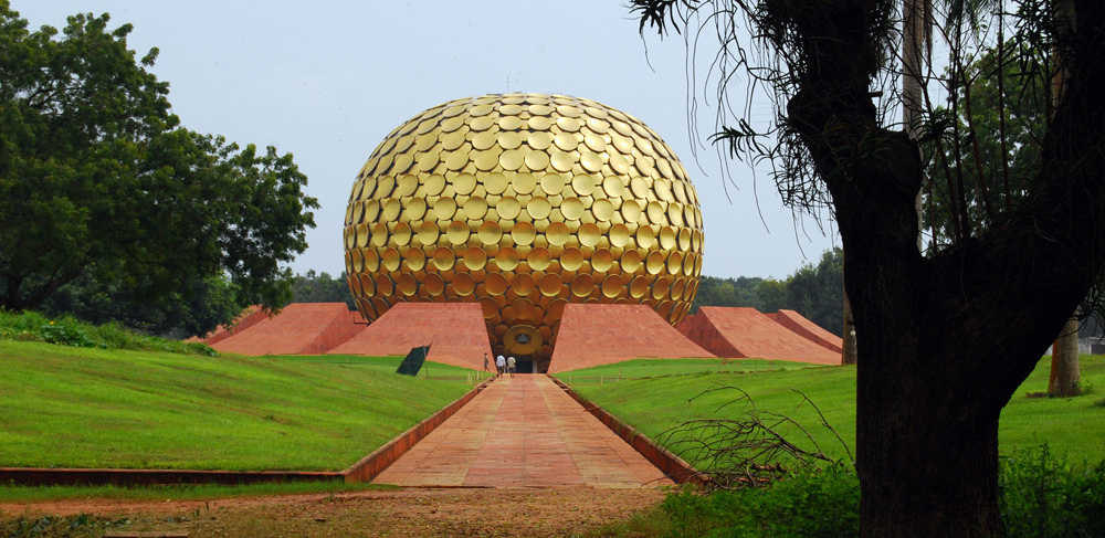 Matri Mandir Auroville in Pondicherry