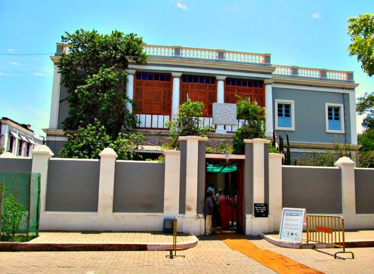Sri Aurobindo Ashram in Pondicherry