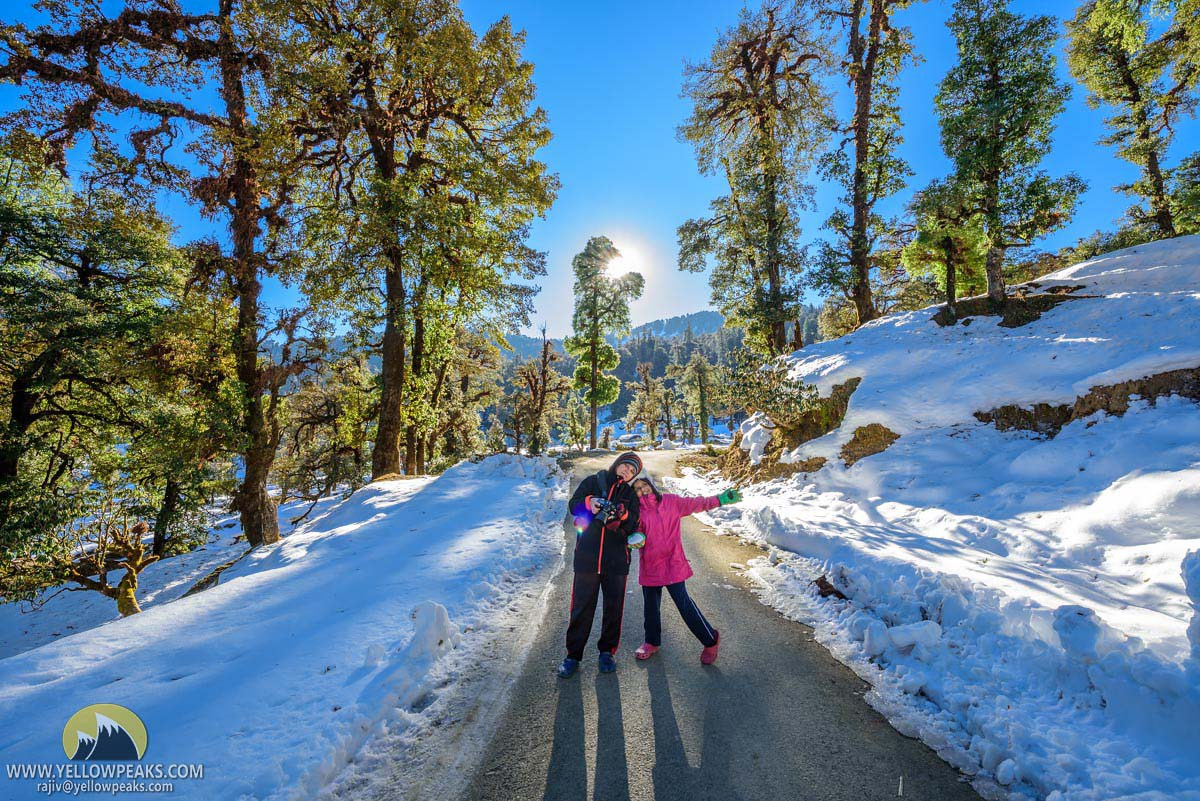 Winter Holiday Destination Uttarakhand
