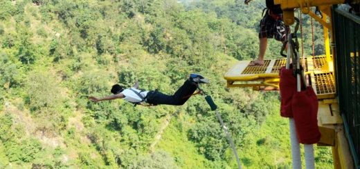 Best Bungee Jumping Destinations in India