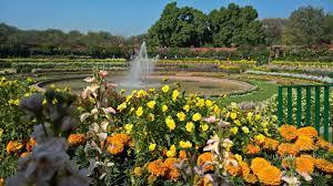 Mughal Gardens in Delhi
