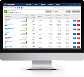 Online share trading account free login