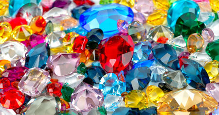 diamond, gems and jewellery