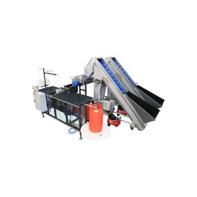 Allround weighing and bagging station