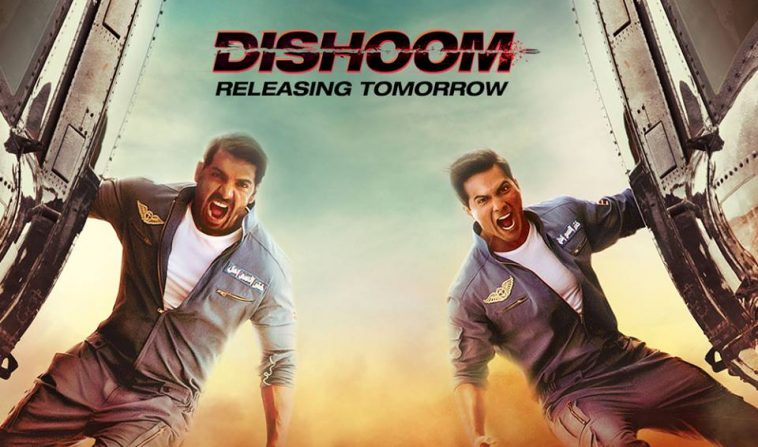 Dishoom Movie review, rating collection