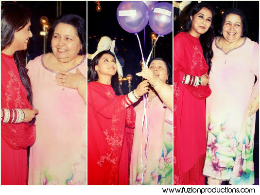 Rani Mukherjees First Appearance With Mother In Law Post Wedding