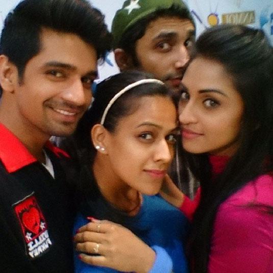 Vishal Singh, Nia Sharma and Krystle Dosuza