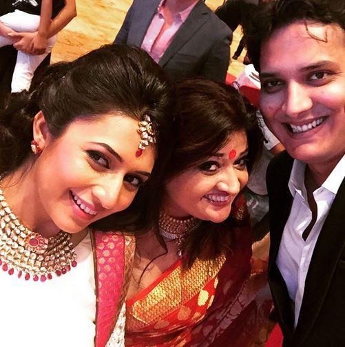 karan patel and ankita bhargavas instyle reception