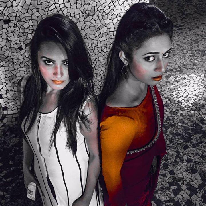 Anita Hassanandani and Divyanka Tripathi As Shagun and Ishita