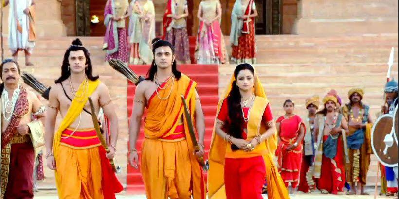 ram and sita first meet in siya ke actors