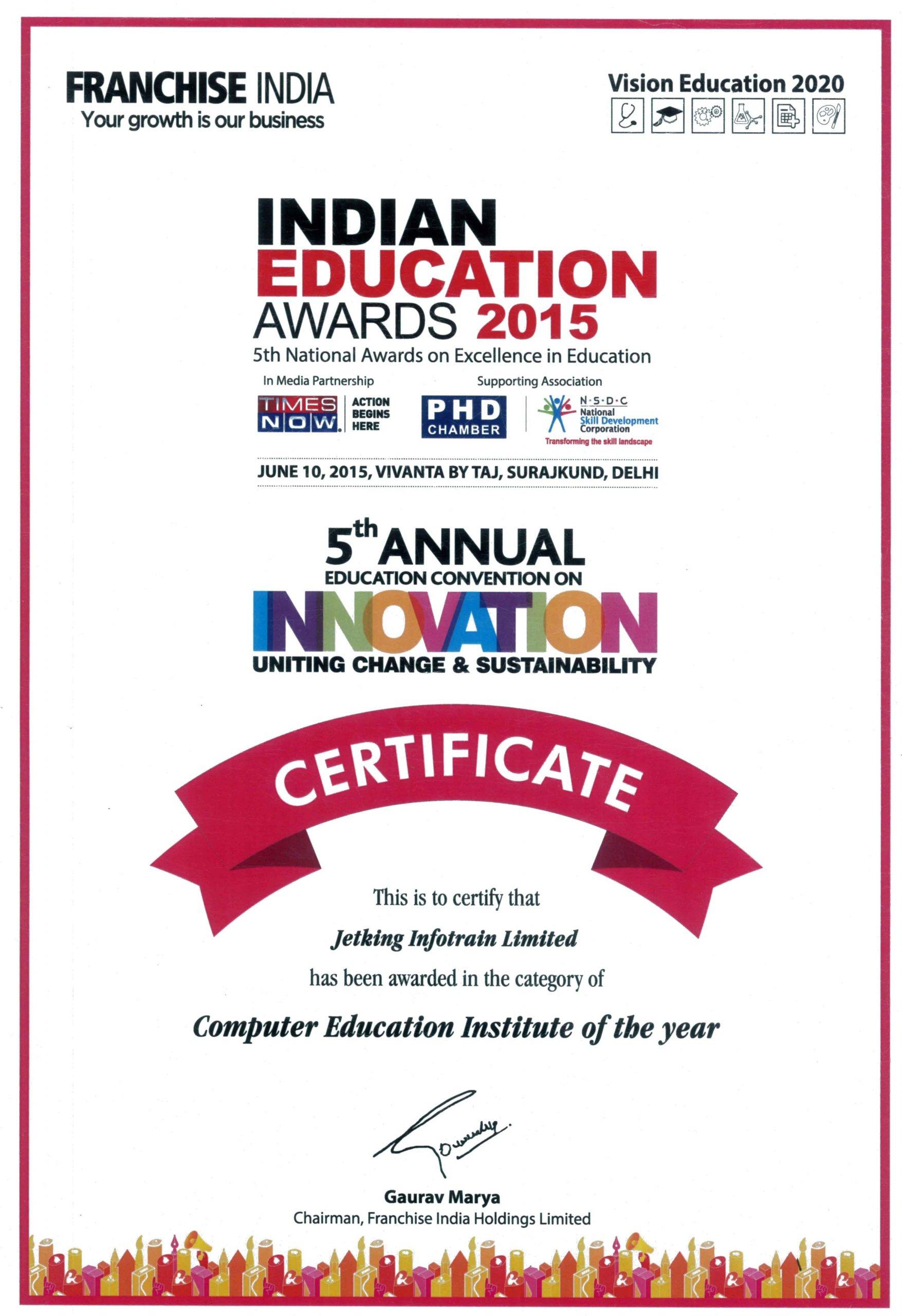 Indian Education Awards
