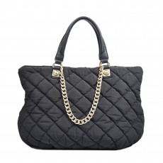 Love Moschino Nylon Quilted Shoulder Bag