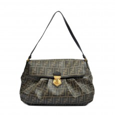 Fendi Brown Zucca Coated Canvas Tote