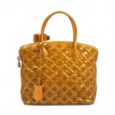 Louis Vuitton Patent Lambskin Fascination Lockit Bag