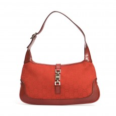 Gucci Red Monogram Jackie O Hobo-01
