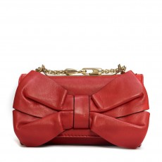 Valentino Leather Bow Crossbody Bag-1