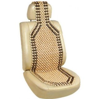 Wooden Beads Acupressure Car Seat - Linkyweb.com