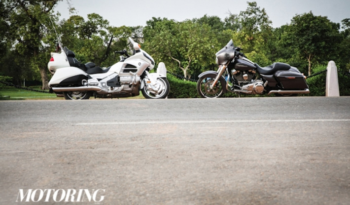 Harley-Davidson Street Glide vs Honda Gold Wing - Motoring World