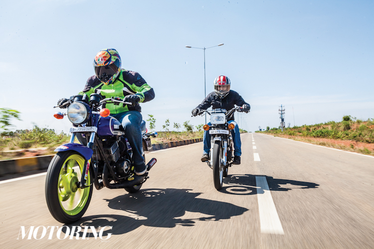 POWERBAND - Yamaha RX 100 vs Yamaha RD 350 - Motoring World