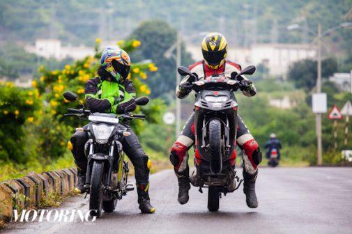 Aprilia SR150 vs Suzuki Gixxer wheelie