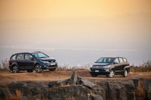 Tata Hexa Toyota Innova Comparison