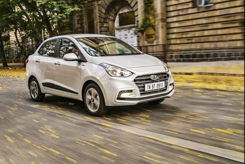 Hyundai Xcent facelift Review Front