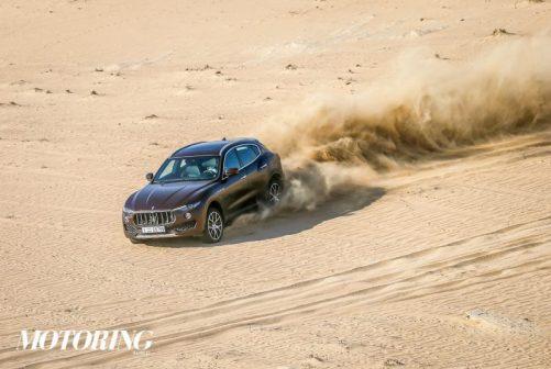 Maserati Levante front Desert Review