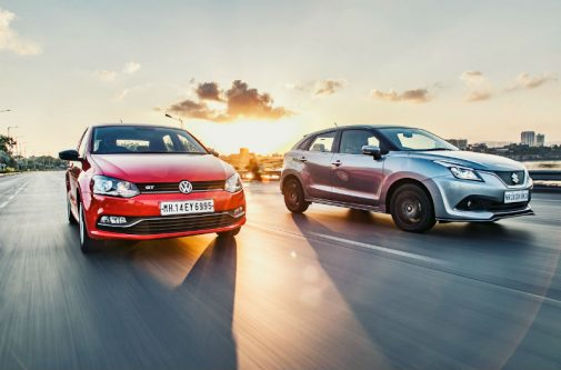 Polo GT TSI vs Baleno RS Front