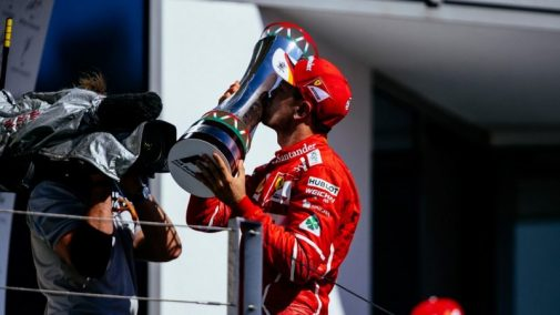 Sebastian Vettel Hungary F1 GP
