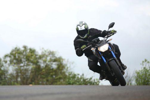 Yamaha MT-09 Cornering