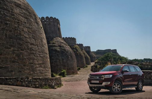Ford Endeavour Kumbhalgarh