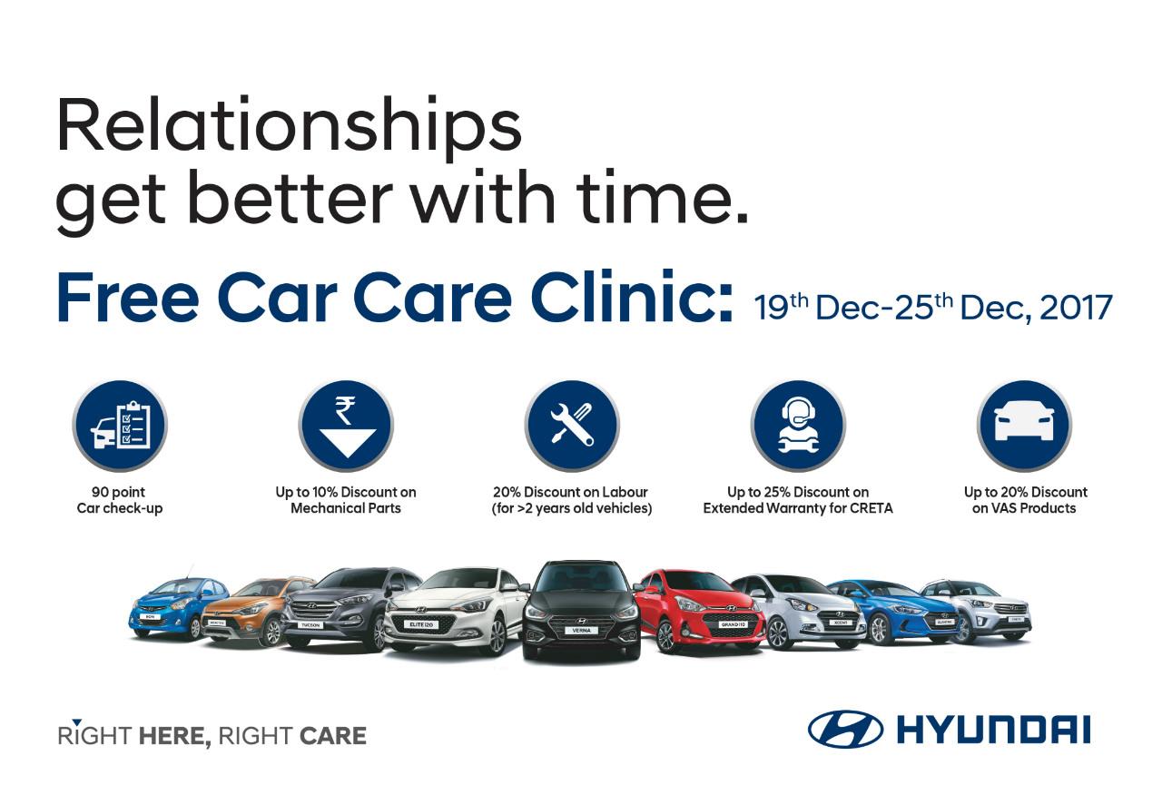 Hyundai Warranty Check >> Hyundai Organises Free Car Care Clinic Motoring World