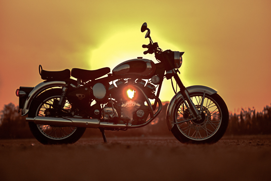 Carberry Modified Royal Enfield Bullet India