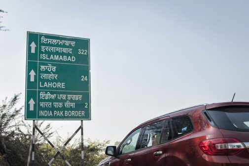 Ford Endeavour Wagah