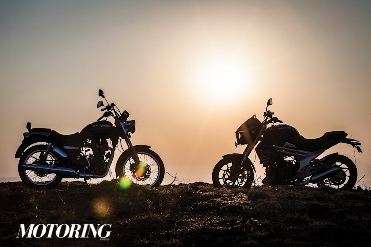 Royal Enfield Thunderbird vs Mojo