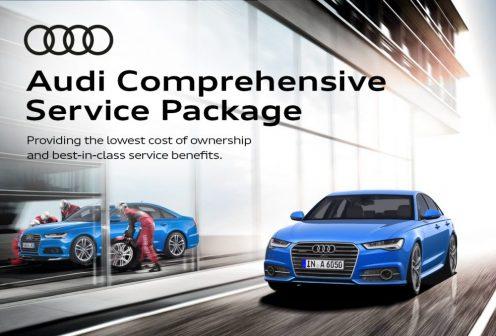 Audi Comprehensive Service Package