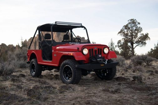Mahindra Roxor Front USA Launched