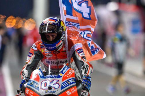 MotoGP Race Report Qatar 2018 Dovizioso
