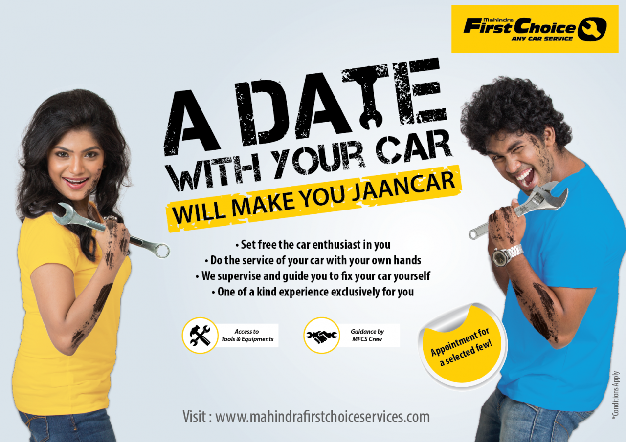 Mahindra First Choice A Date with Your Car