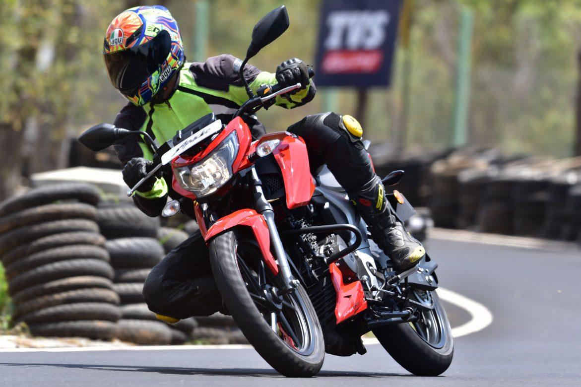 Progress Report: TVS APACHE RTR 160 4V First Ride - Motoring