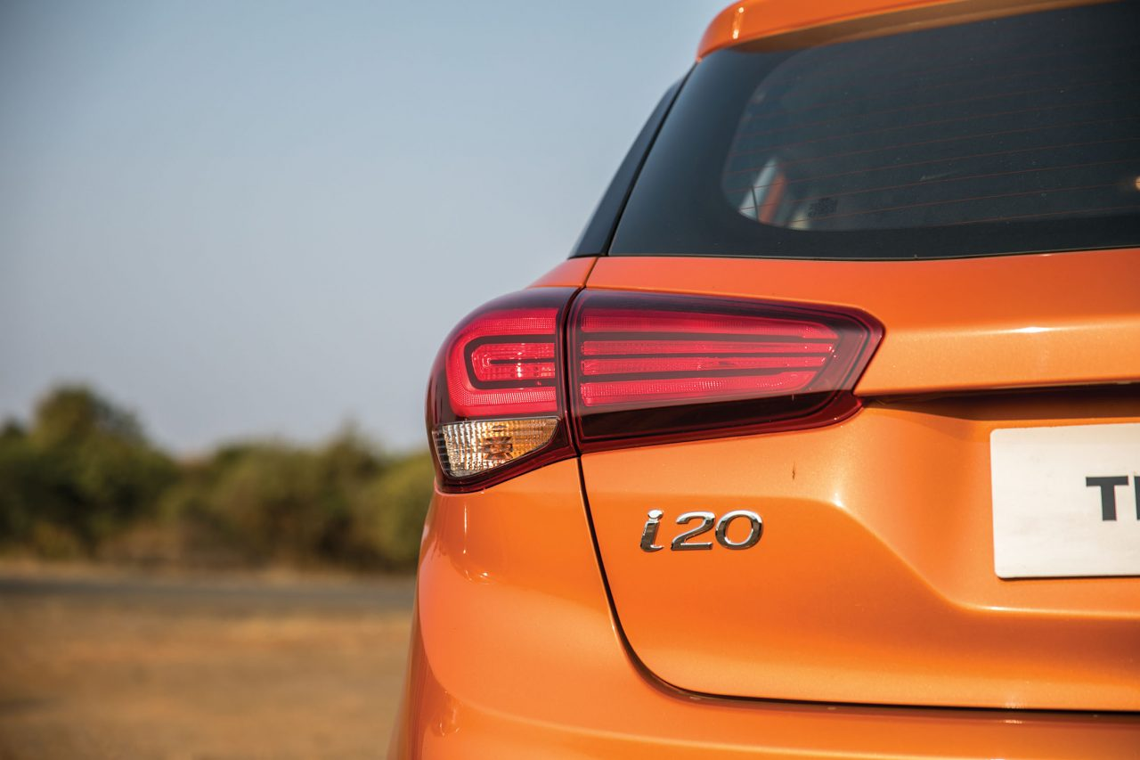 Hyundai Elite i20 Tail lamps