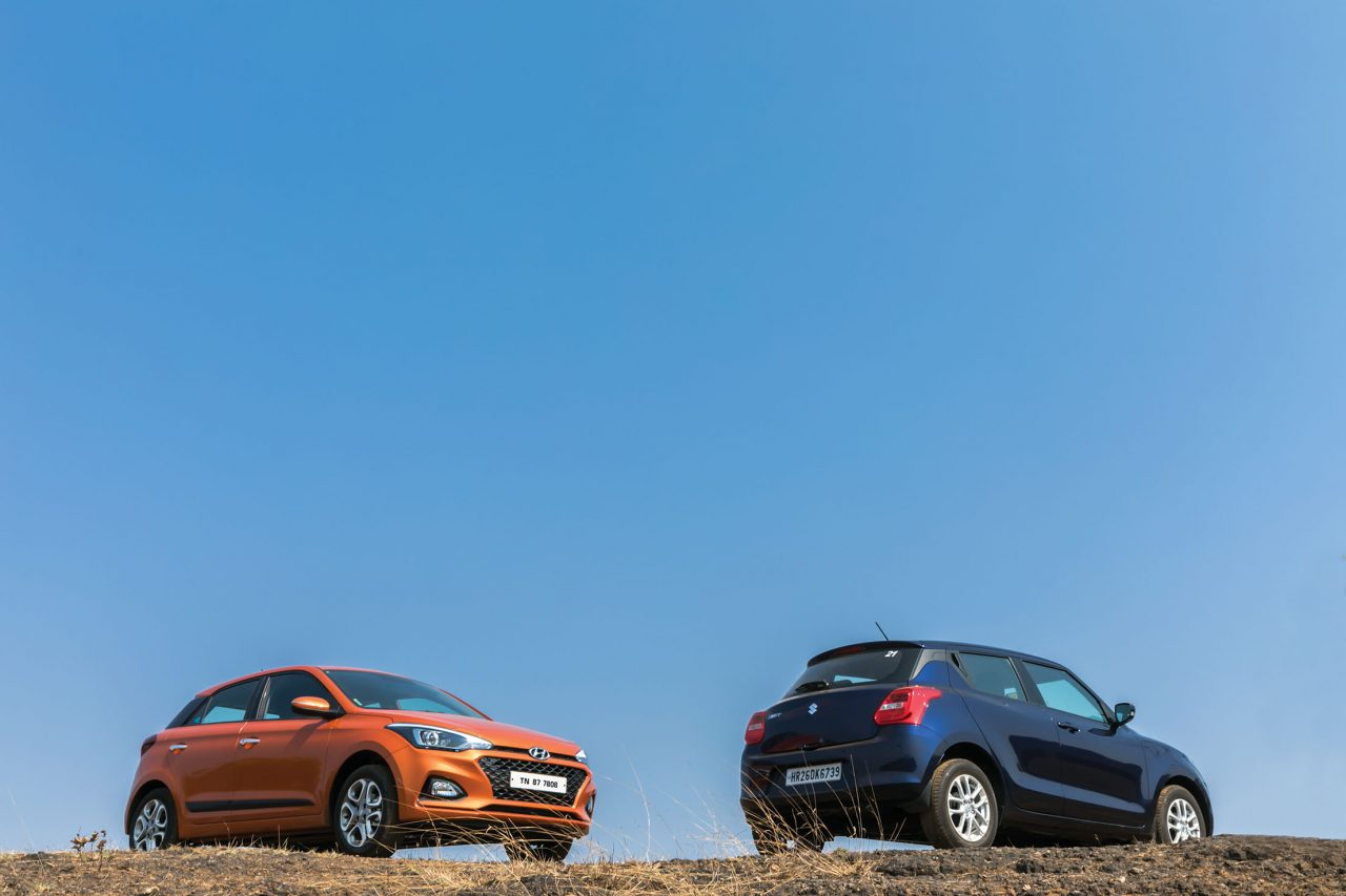 Hyundai i20 vs Maruti Swift