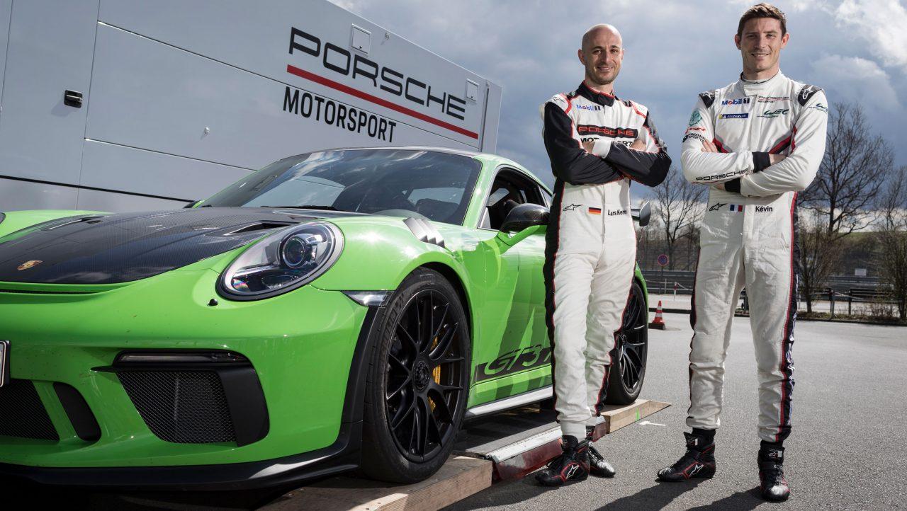 Kevin Estre Porsche Nurburgring