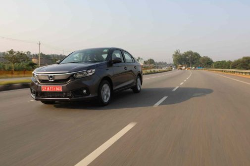 Honda Amaze Front Three Quarter Launch in may