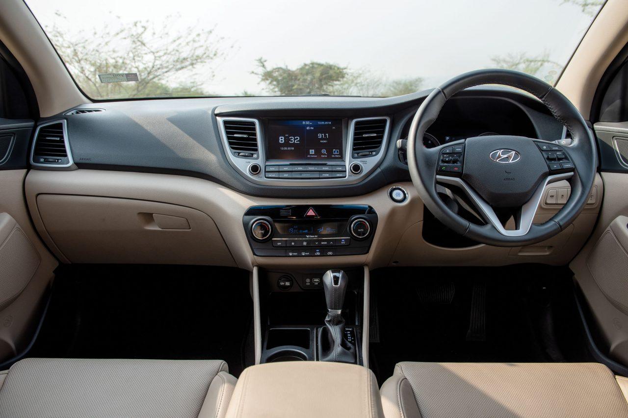 Hyundai Tucson 4WD Interior