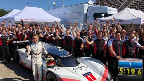 Porsche 919 Nurburgring Record