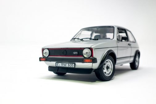 Volkswagen Golf GTI Mk1 scale model