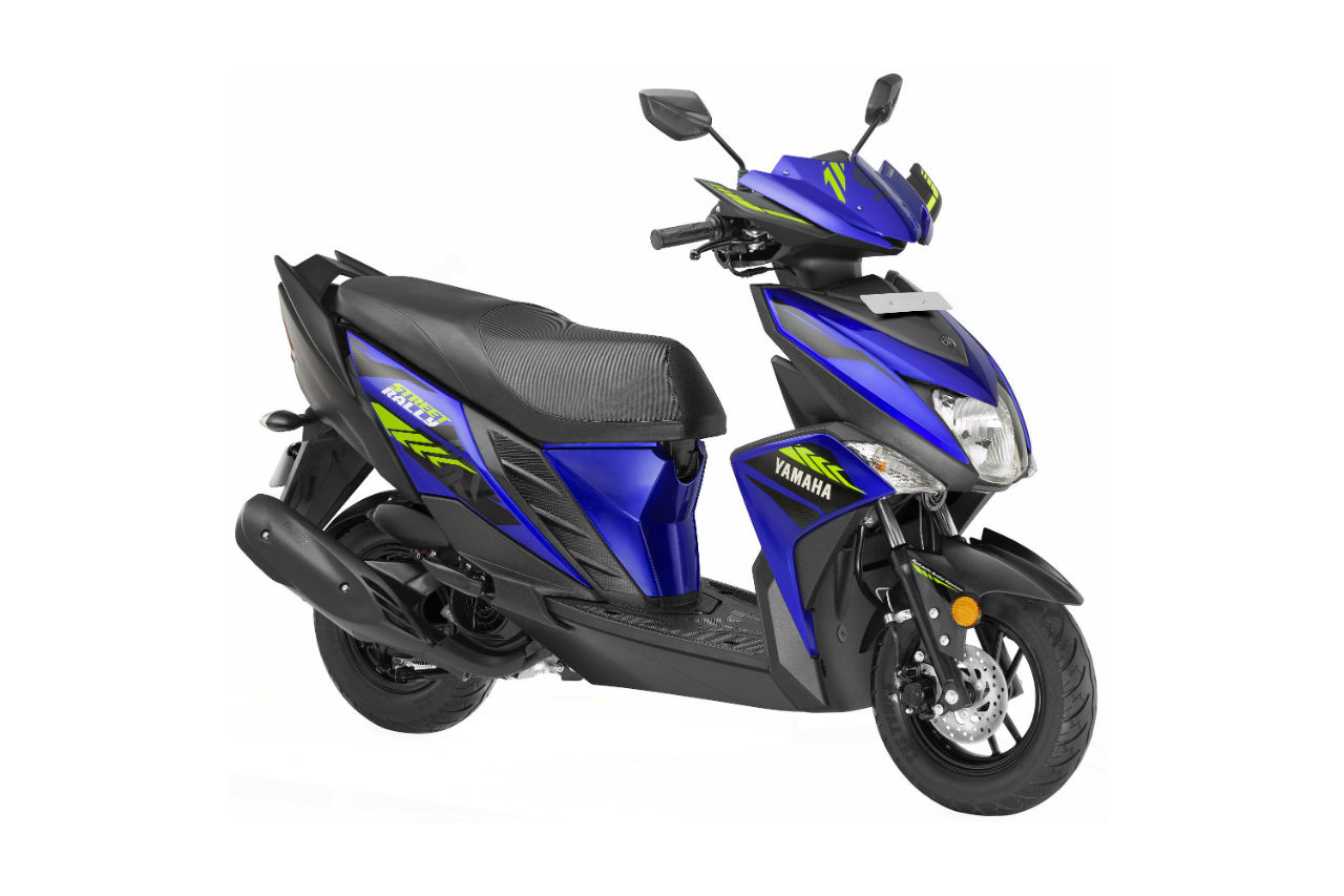 Yamaha Ray ZR Street Rally Colours
